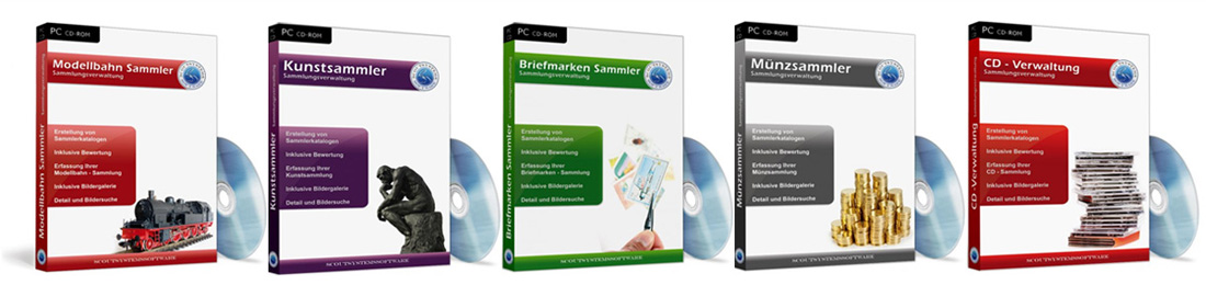 Sammlung Software