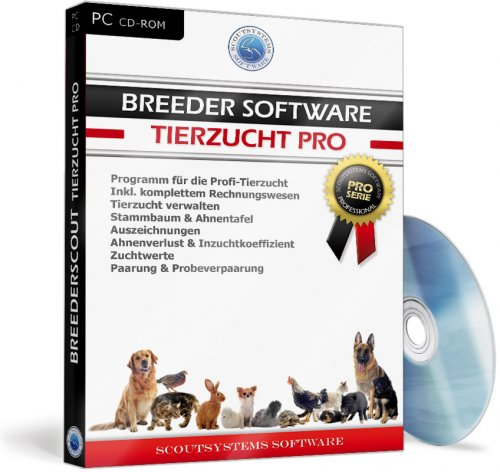 Breeder Software Profi Tierzucht Software