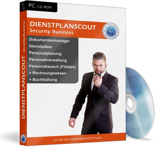 Dienstplanscout Security Business Wachschutz Software
